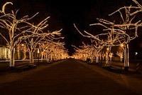 Подключение освещения зданий в Калуге