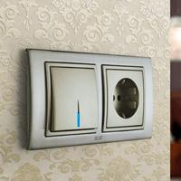 Установка выключателей в Калуге. Монтаж, ремонт, замена выключателей, розеток Калуга.