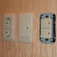 Монтаж, ремонт, замена выключателей Калуга